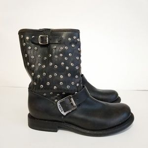 Frye size 7 studded boots